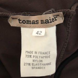 Tomas Maier Swim - Tomas Maier brown one piece underwire swimsuit 42
